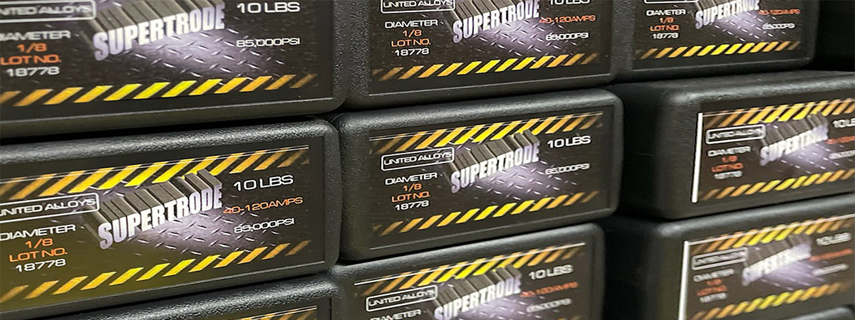 Stock Shelves of Supertrode Product
